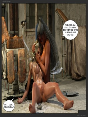 3D Porn Comics Zuleyka- Ultragirl and Futa Panther Porn Comic 55