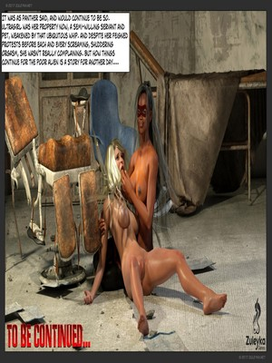 3D Porn Comics Zuleyka- Ultragirl and Futa Panther Porn Comic 57