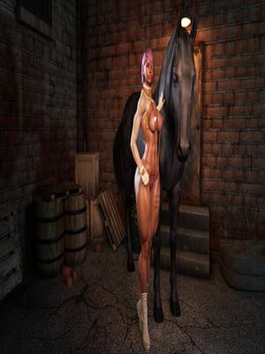 Porn Comics - 3D : Zz2tommy- Backalley Horsing Porn Comic