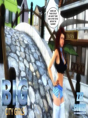 Porn Comics - Big City Girls free Porn Comic