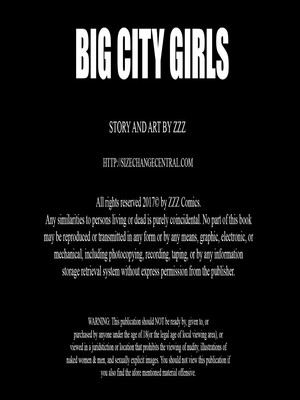 Big City Girls free Porn Comic sex 02