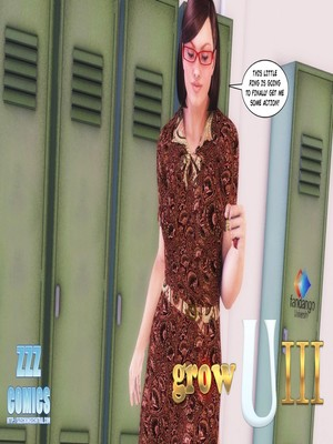 Porn Comics - ZZZ- Grow U 3 CE free Porn Comic