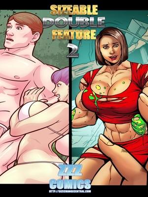 Porn Comics - ZZZ- Sizeable Double Feature 2 free Porn Comic