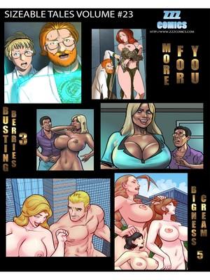 Porn Comics - ZZZ- Sizeable Tales 23 CE free Porn Comic