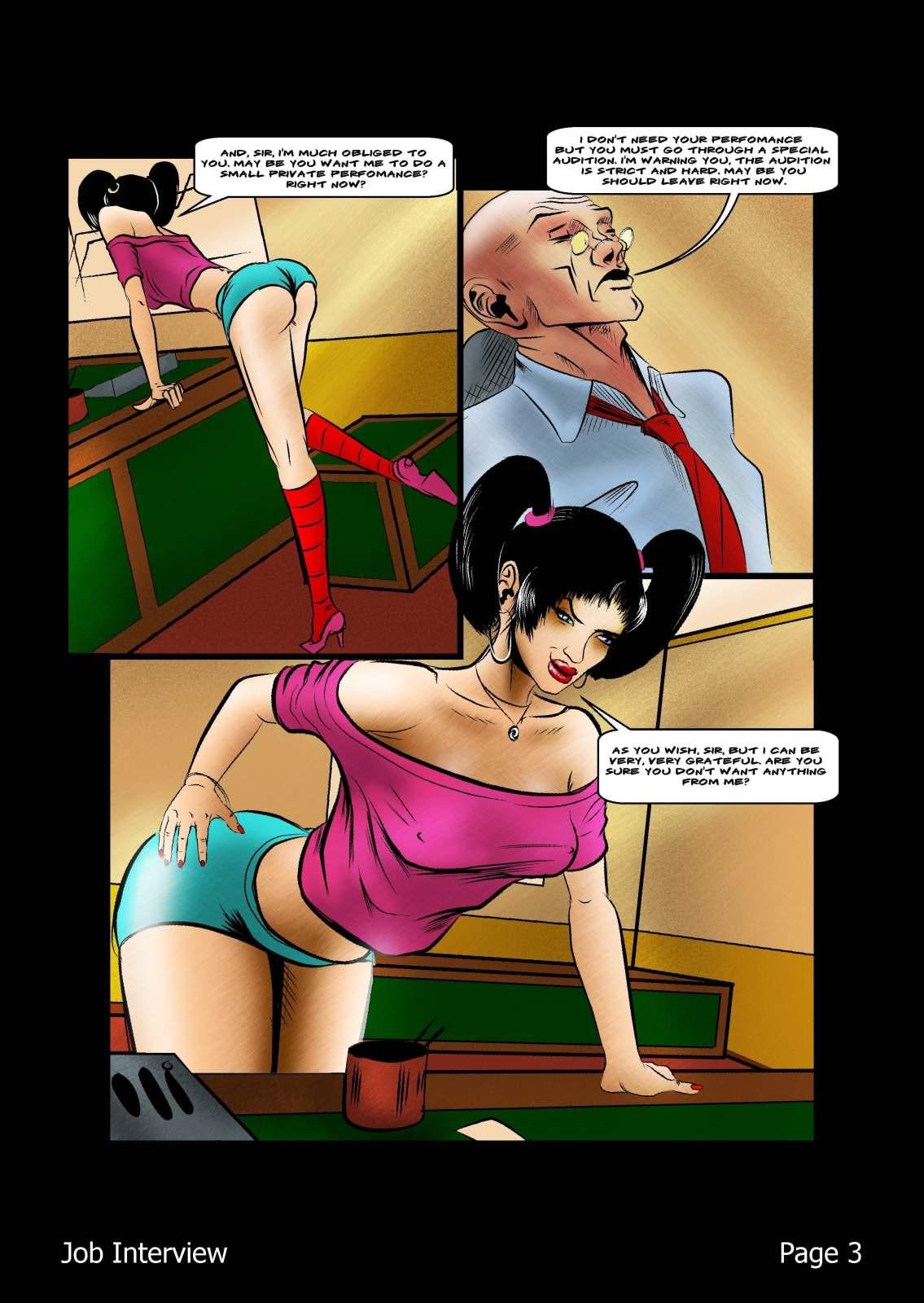 Bdsm Porn Comics bdsm job interview free porn comic - hd porn comics