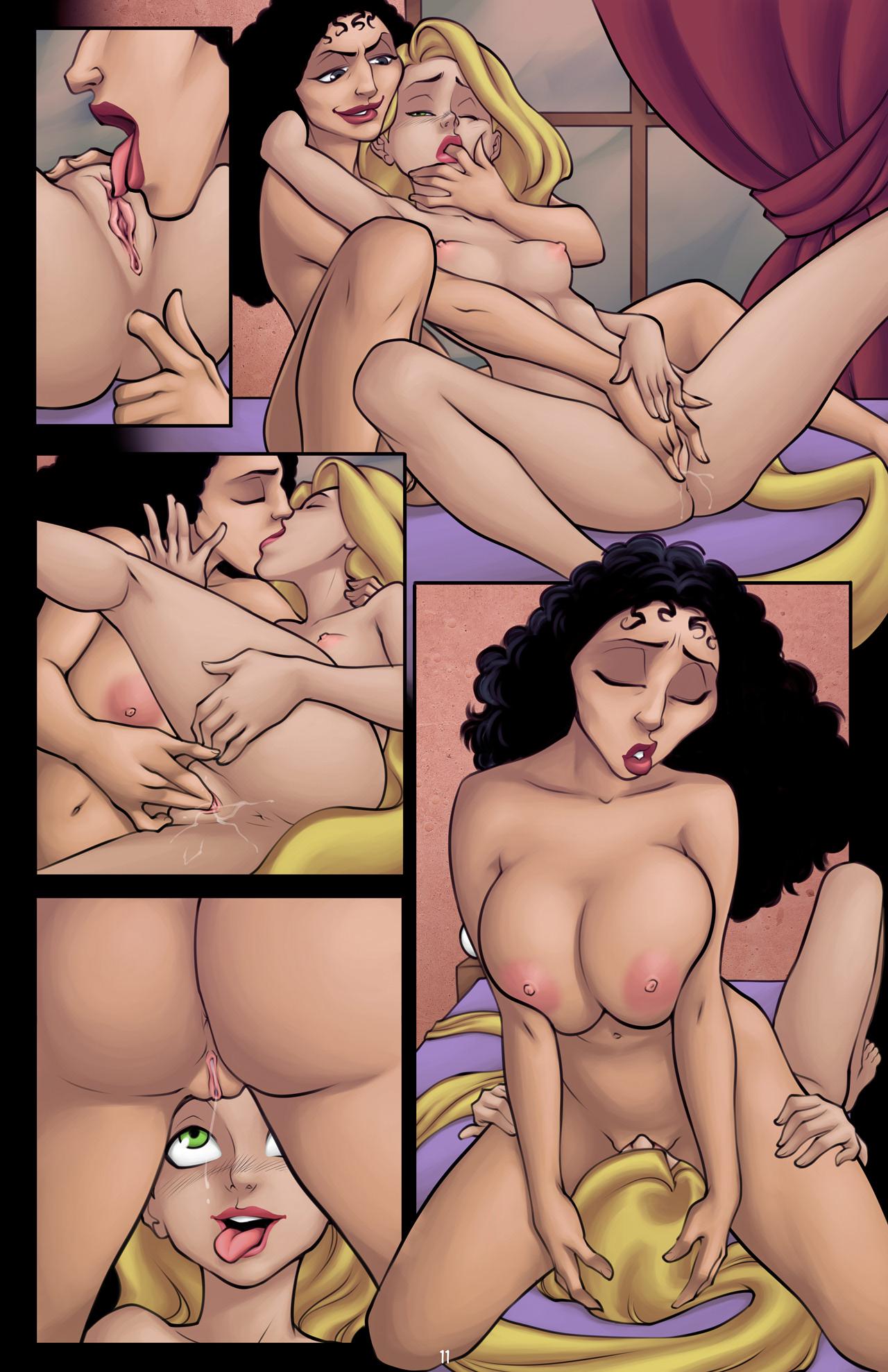 Lesbians Cartoon Sex