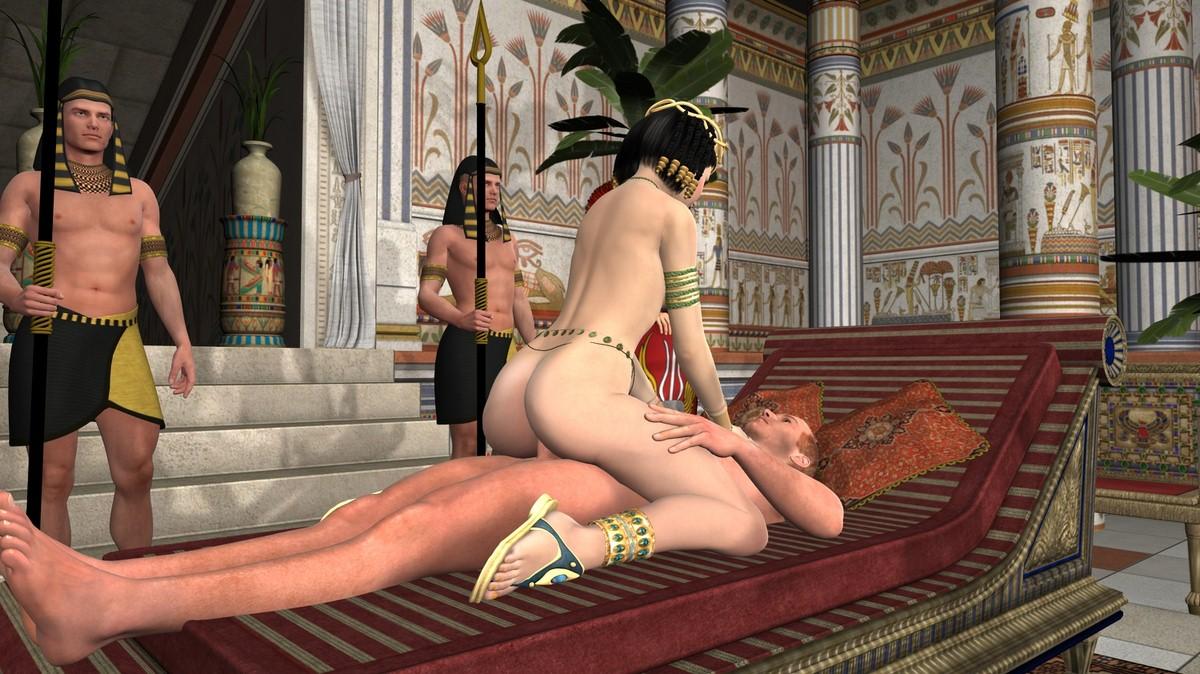 3D Muscle Sex 3d : sex with cleopatra [3d] porn comic - hd porn comics