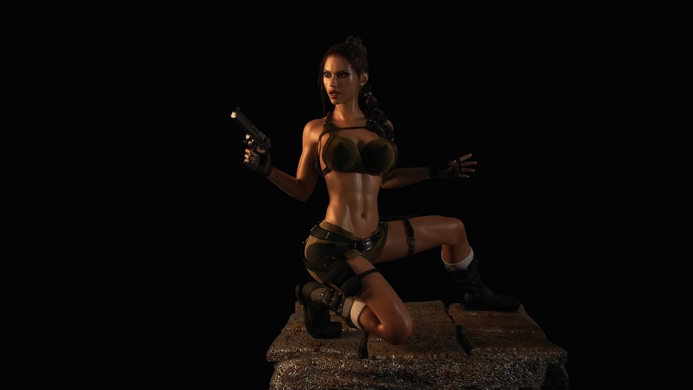 Lara croft 3d world xxx xxx pic